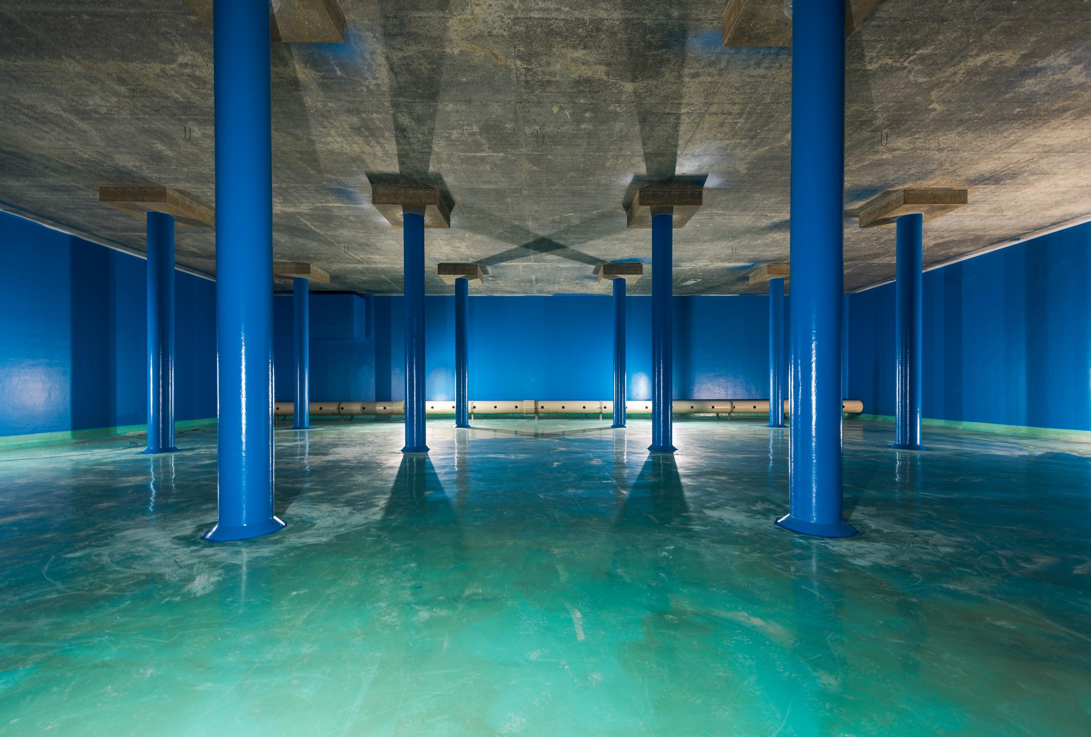 Renovatie reinwaterkelder Vitens