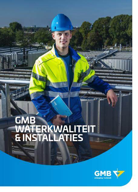Brochure GMB Waterkwaliteit & installaties