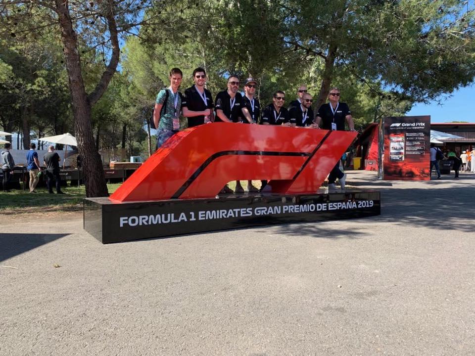 I-Pulse formule 1 Barcelona
