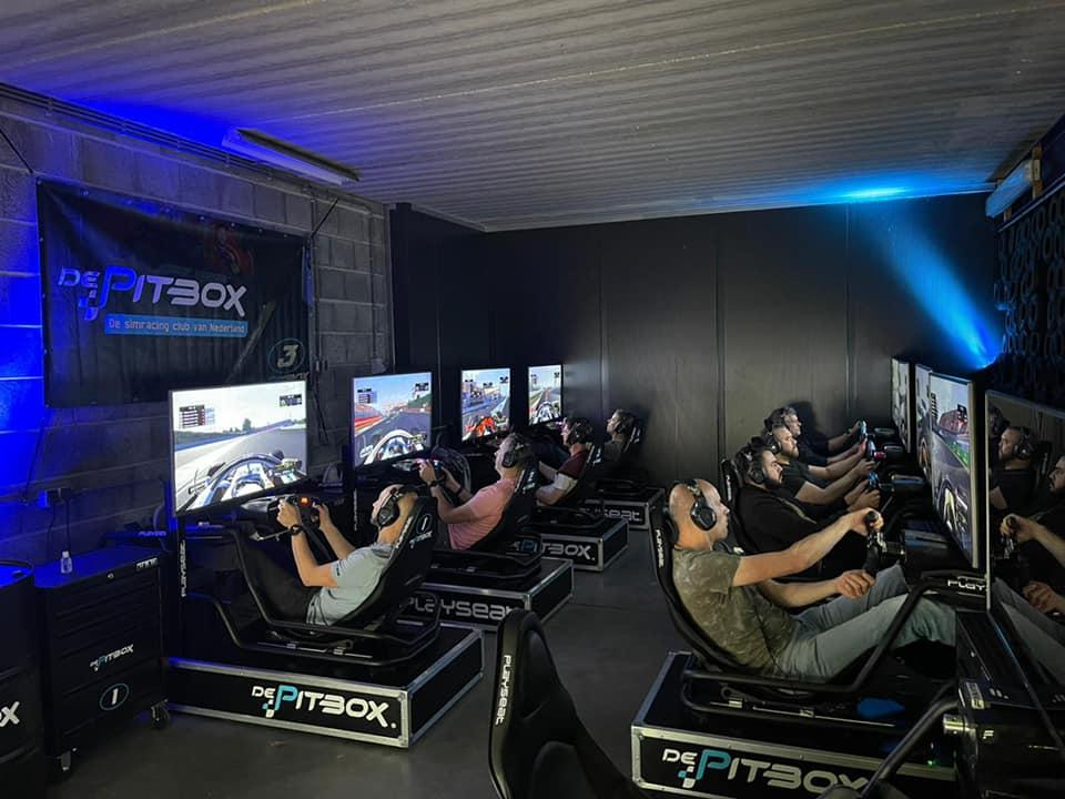 I-Pulse sim-race
