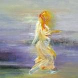 engel op strand