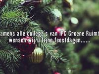 Wij wensen u fijne feestdagen afbeelding nieuwsbericht