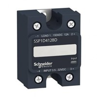 SSP1D - 1-fase solid state relais DC, 0-40A