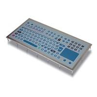 GFT-105 folietoetsenbord met touchpad