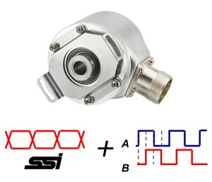 AC58-I Absoluut + Incrementeel combi