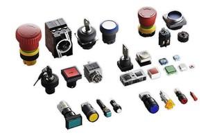 Compleet programma drukknoppen en signaleringen