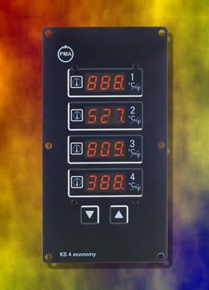 KS4: 4-voudige multi- temperatuurregelaar