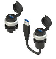 USB - RJ45  sockets