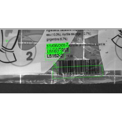 Afbeelding 5 - Cognex controleert productiecodes en houdbaarheidsdatum op VVVS-machine