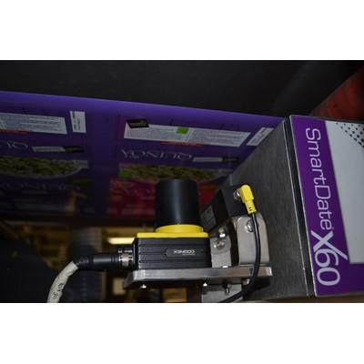 Afbeelding 1 - Cognex controleert productiecodes en houdbaarheidsdatum op VVVS-machine
