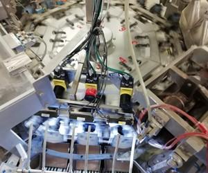 Cognex camera's in natte en droge lijnen Geautomatiseerde controles voedingsproductie