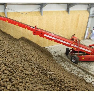 Afbeelding 1 - Gelijkmatige opslag van aardappelen door Hengstler encoder