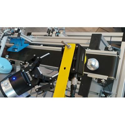 Afbeelding 3 - Opleidingsinstituut ROC A12 doceert met Cognex visioncamera's. LEREN DOOR DOEN!