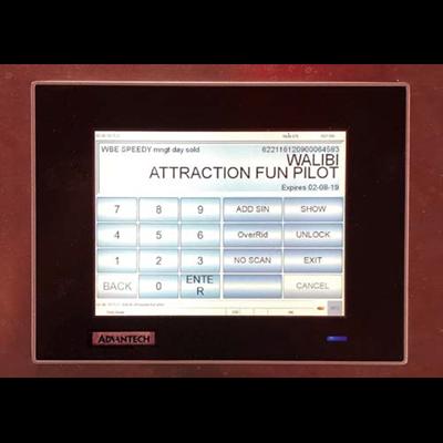 Afbeelding 3 - Advantech TPC voor toegang pretpark