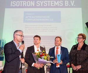 Isotron Systems wint ETOP Award voor de Industrie.