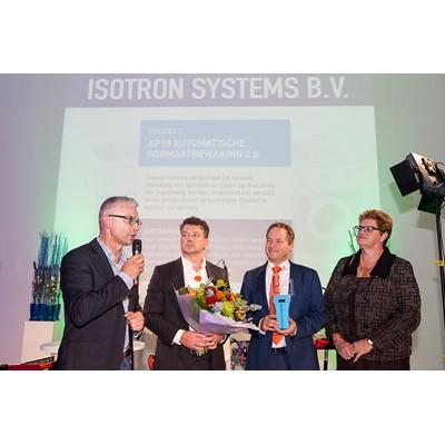 Afbeelding 1 - Isotron Systems wint ETOP Award voor de Industrie.