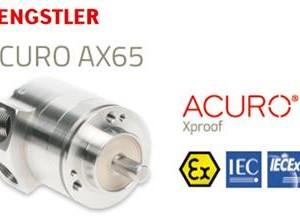 Hengstler ACURO® AX65, de meest compacte explosieveilige absoluut encoder op de markt