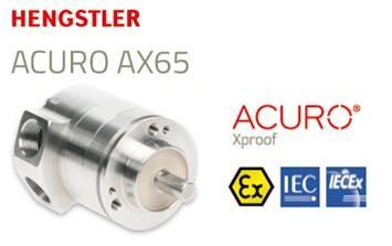 Afbeelding 1 - Hengstler ACURO® AX65, de meest compacte explosieveilige absoluut encoder op de markt