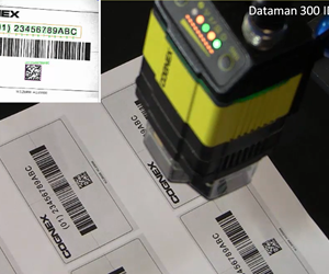 De DataMan 300-modellen met OCR (Optical Character Recognition)