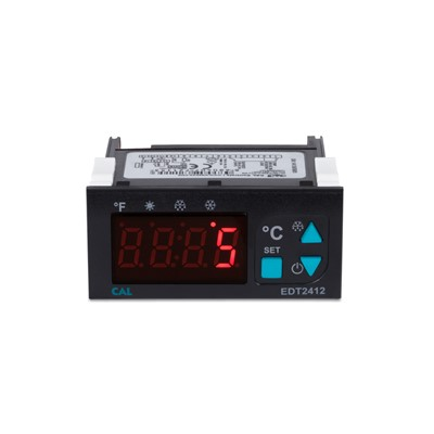Afbeelding 1 - Digitale koel- en verwarmingsthermostaten met verbeterde prestaties