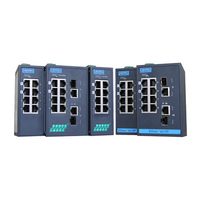 Afbeelding 1 - Managed Protocol Switches van Advantech
