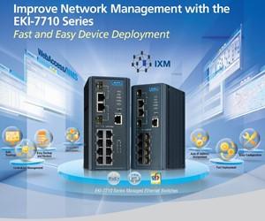 Managed switch met IXM; snelle en foutloze uitrol van netwerken