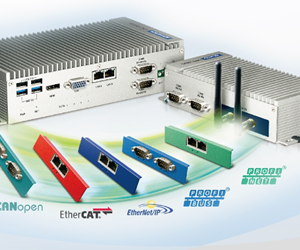 Fanless Embedded Box PC's met 'iDoor Technologie'