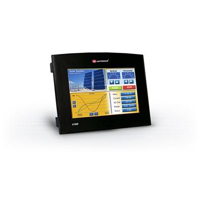 Afbeelding 1 - Nieuw van Unitronics: Vision 700: all-in-one PLC met 7-inch touchscreen display