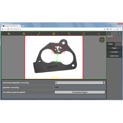 Afbeelding 1 - Nieuwe versie van Cognex In-Sight® Explorer