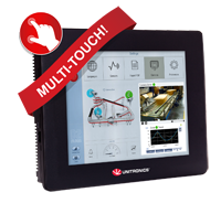 Swipe, pinch, zoom & meer – de PLC met multi-touch