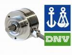DNV toelating voor AR62 en AR63 encoders van Hengstler
