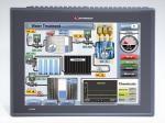 Een 12 inch HMI + PLC van Unitronics speciaal voor de food industrie.