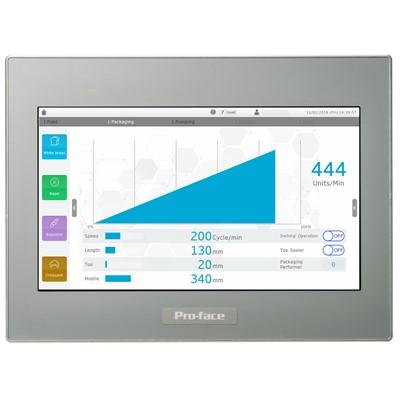 Afbeelding 3 - Uniek montagesysteem Pro-face HMI-displays vereenvoudigt installatie