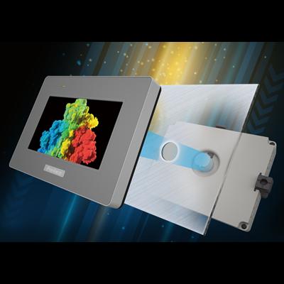 Afbeelding 1 - Uniek montagesysteem Pro-face HMI-displays vereenvoudigt installatie