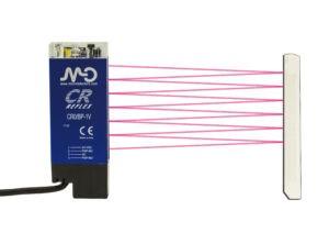 De nieuwe retro-reflectieve area sensor van Micro Detectors