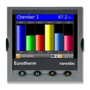 Afbeelding 1 - De Eurotherm Nanodac Recorder/Controller nu ook met Batch-functionaliteit en BACnet™