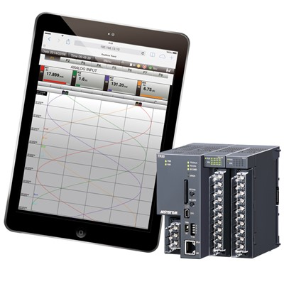 Afbeelding 1 - Web based stand alone datalogger: de TR30-G