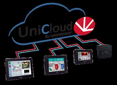 Afbeelding 1 - Unitronics UniCloud nu beschikbaar