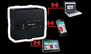 Afbeelding 1 - Nieuw: Unitronics PLC met virtuele HMI