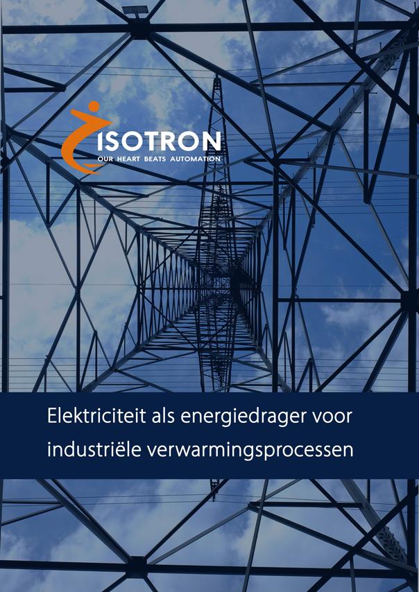 Elektriciteit als energiedrager voor industriële verwarmingsprocessen