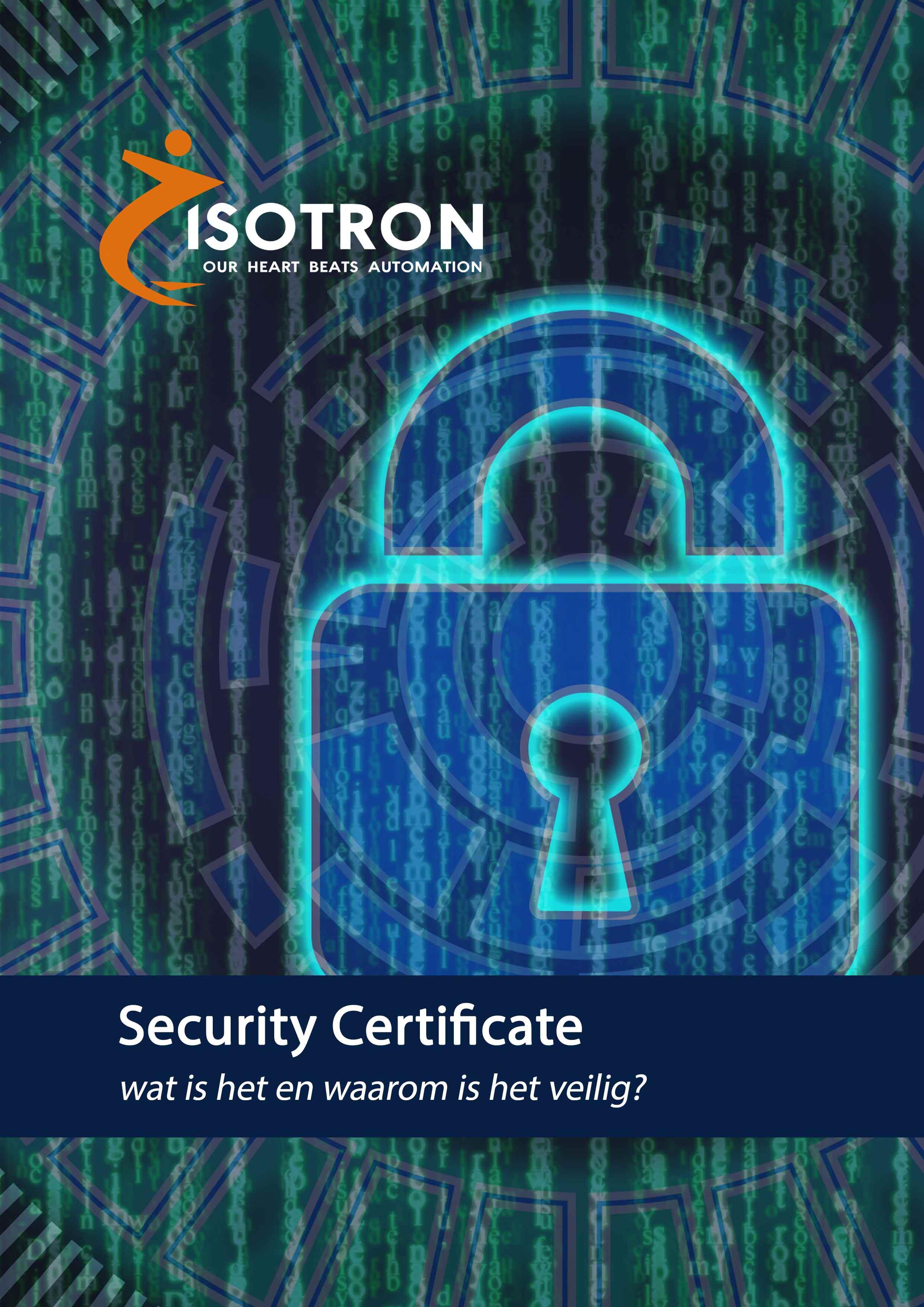 Security certificate: Wat is het en waarom is het veilig?