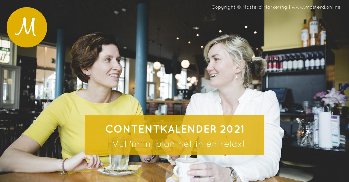 Gratis contentkalender 2021