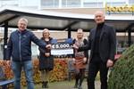 Night Star Express Hellmann schenkt € 5.000,- aan personeelsvereninging Slingeland Ziekenhuis