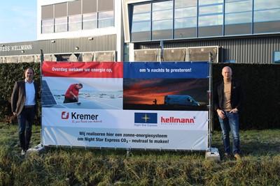 Night Star Express Hellmann bereikt energie neutrale status