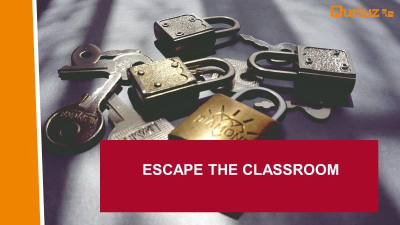 Innovatieateljé, Escape the classroom