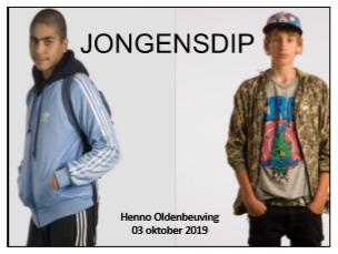 MC Jongensdip in het Nederlandse onderwijs