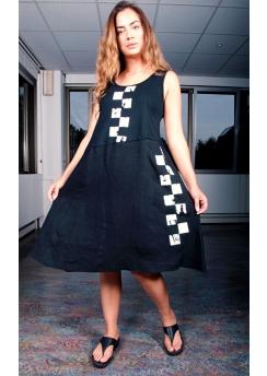 Rimini dress with print