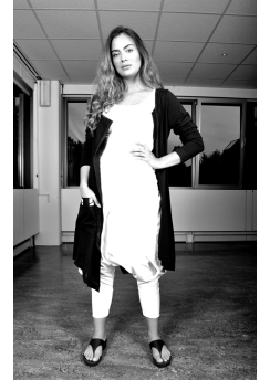 Rimini coat and dress with print