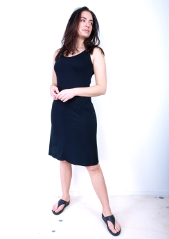 Rimini dress asym 105cm