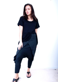Rimini t shirt with wing sleeves